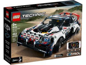lego 42109 coche de rally top gear controlado por app