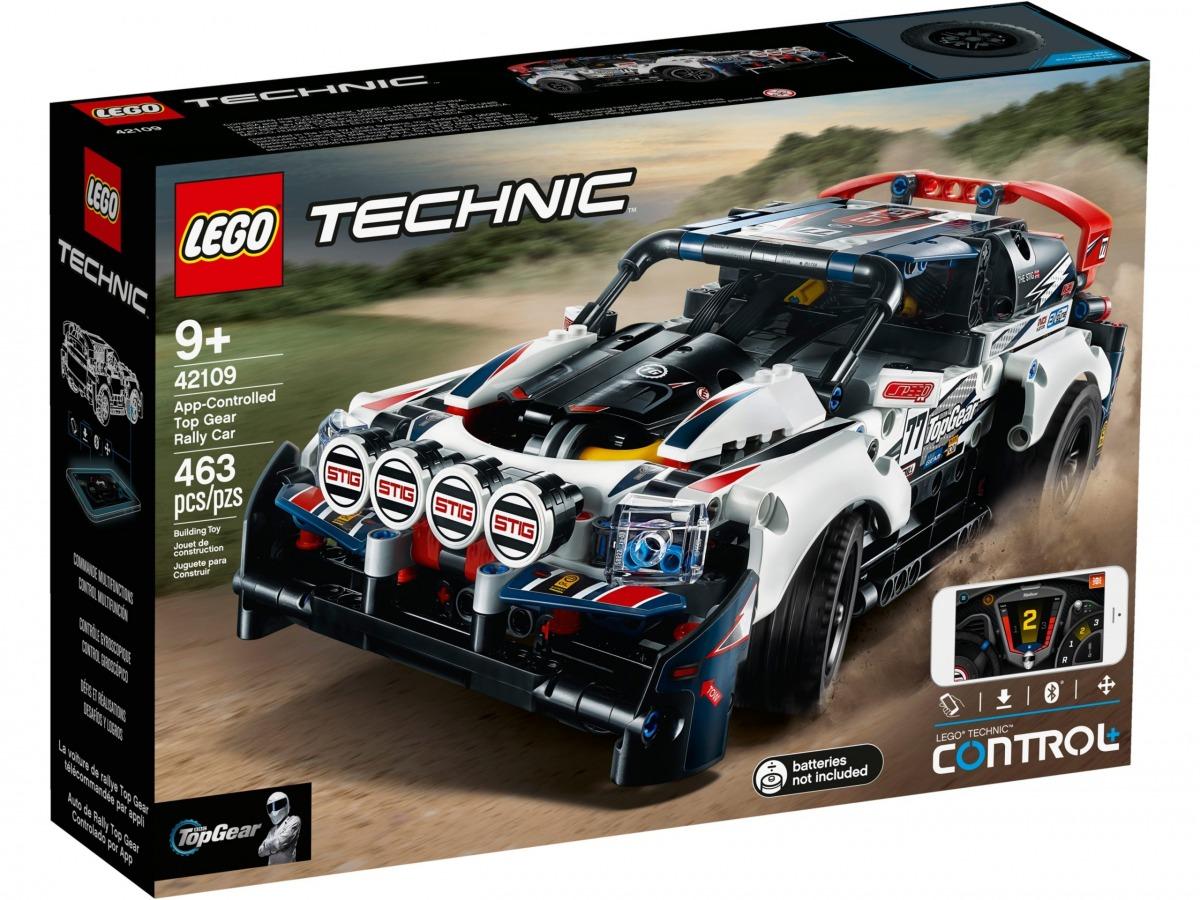 lego 42109 coche de rally top gear controlado por app scaled