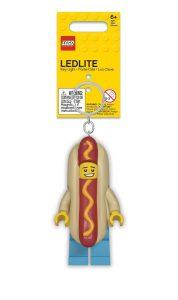 lego 5005705 llavero con linterna del vendedor de perritos calientes