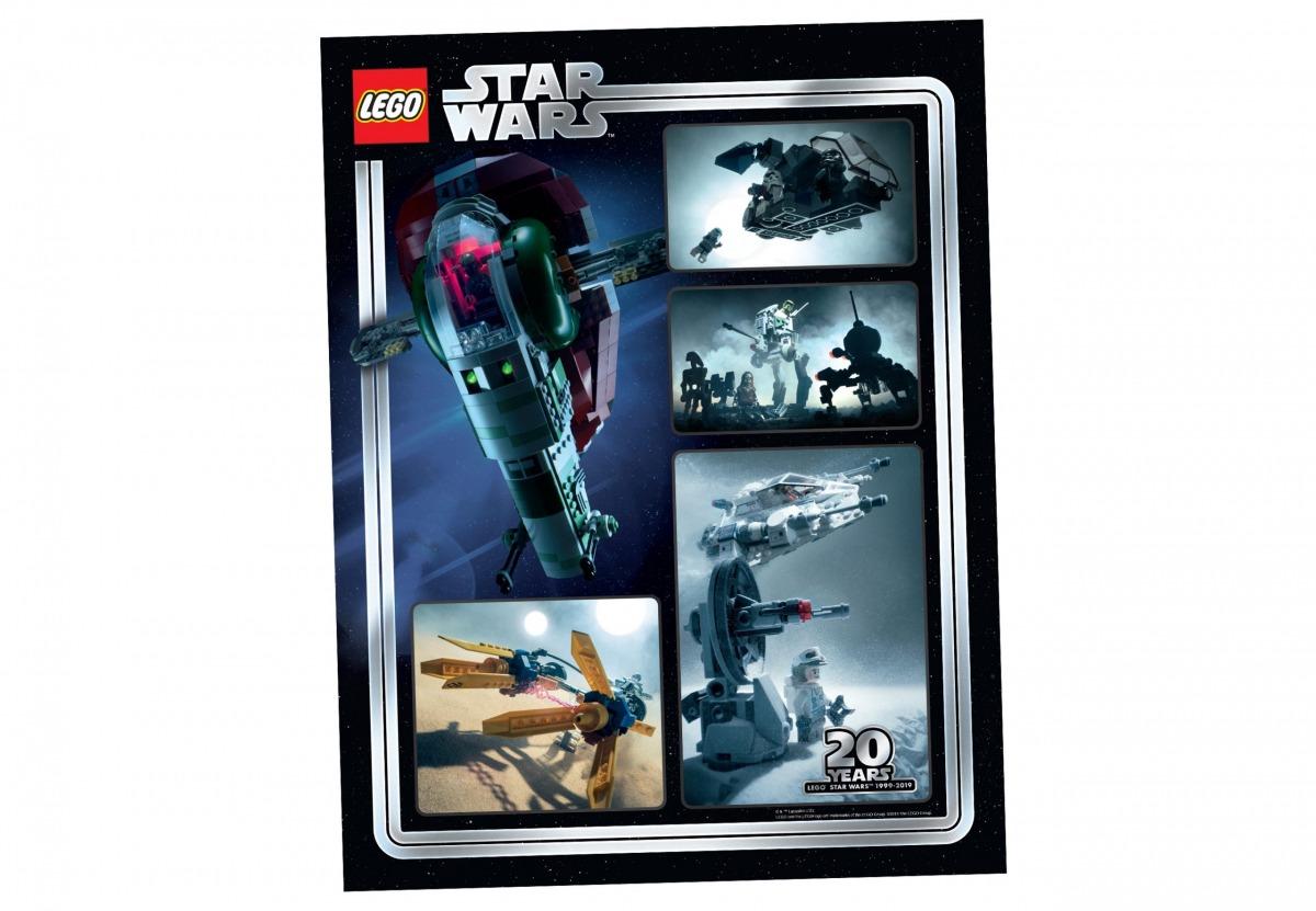 lego 5005888 reproduccion artistica coleccionable del 20 aniversario de star wars scaled