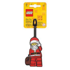 lego 5006030 etiqueta para equipaje de papa noel