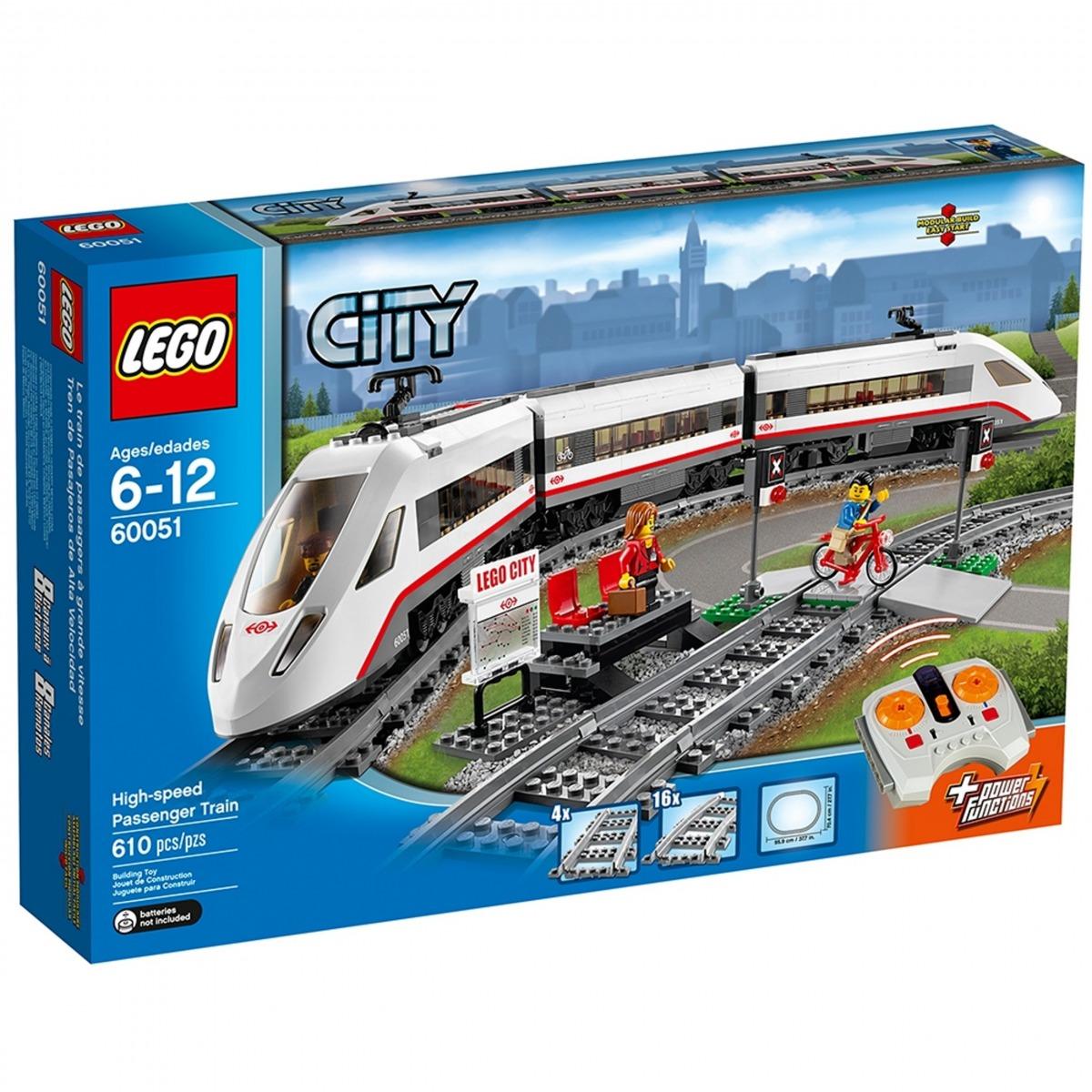 lego 60051 tren de pasajeros de alta velocidad scaled