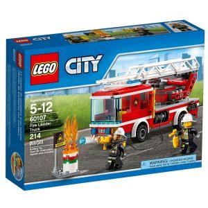 lego 60107 camion de bomberos con escalera