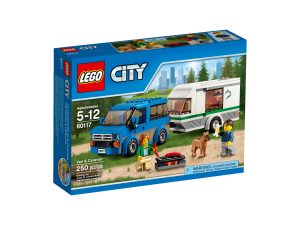 lego 60117 furgoneta y caravana