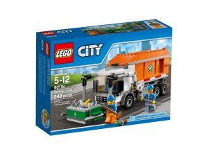 lego 60118 camion de la basura