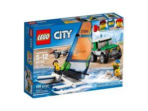 lego 60149 4x4 con catamaran