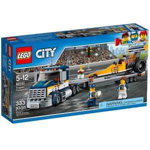 lego 60151 transporte del dragster