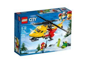 lego 60179 helicoptero ambulancia
