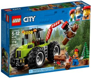 lego 60181 tractor forestal