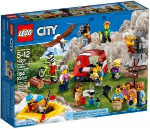 lego 60202 pack de minifiguras aventuras al aire libre