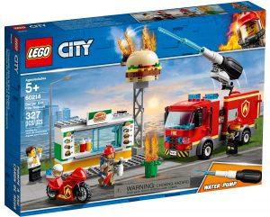 lego 60214 rescate del incendio en la hamburgueseria
