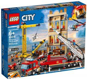lego 60216 brigada de bomberos del distrito centro
