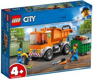 lego 60220 camion de la basura