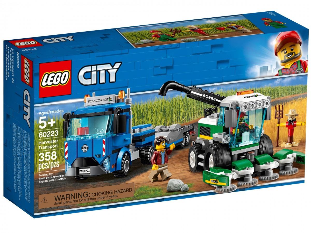 lego 60223 transporte de la cosechadora scaled