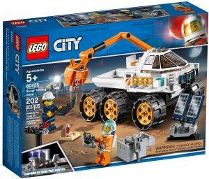 lego 60225 prueba de conduccion del rover