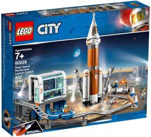 lego 60228 cohete espacial de larga distancia y centro de control