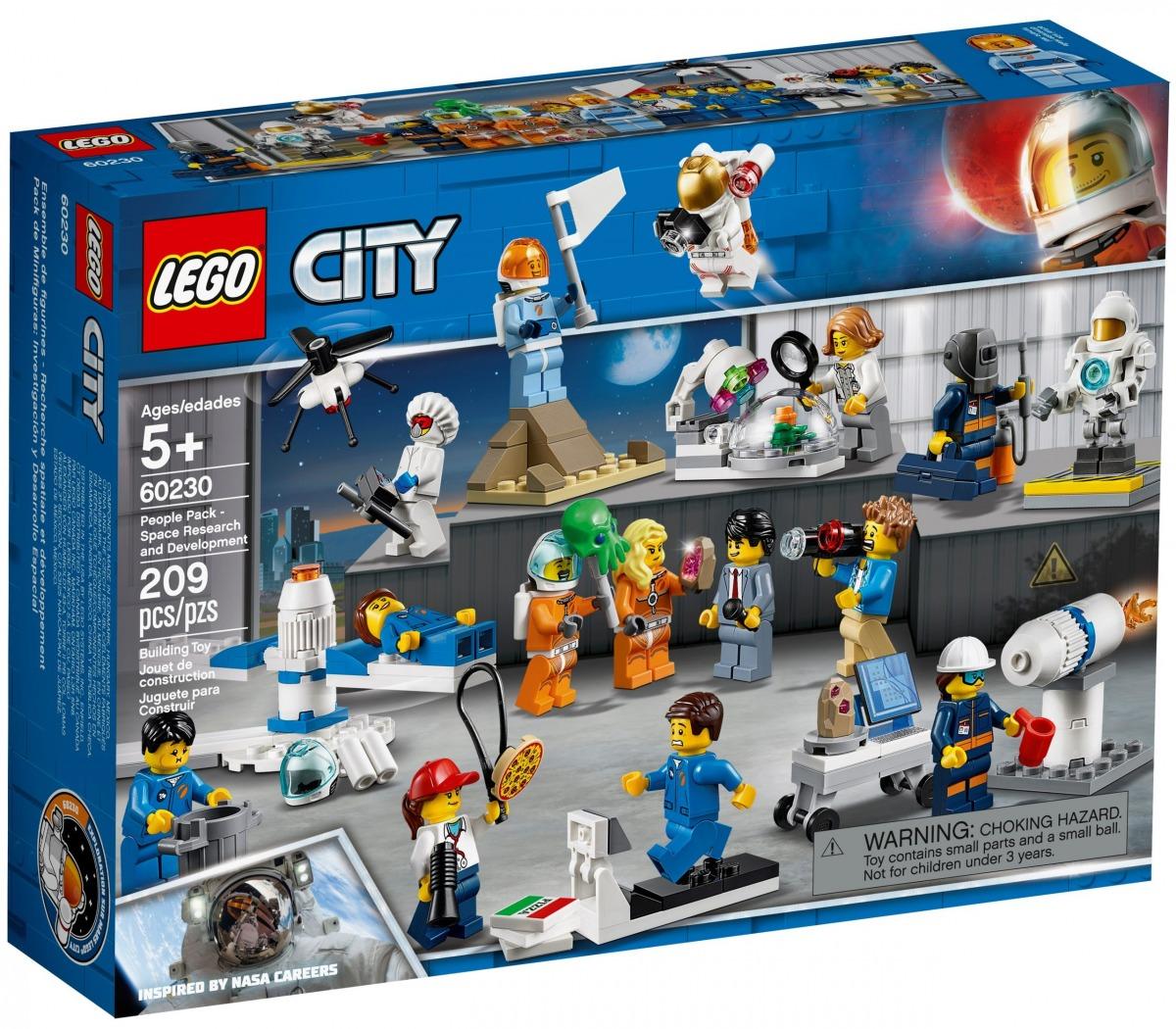 lego 60230 pack de minifiguras investigacion y desarrollo espacial scaled