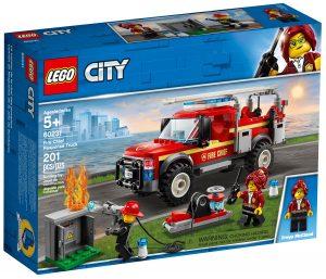 lego 60231 camion de intervencion de la jefa de bomberos