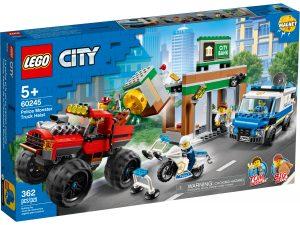 lego 60245 policia atraco del monster truck