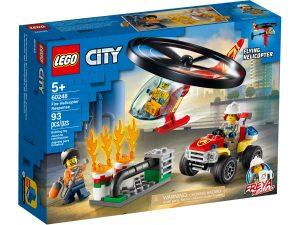 lego 60248 intervencion del helicoptero de bomberos