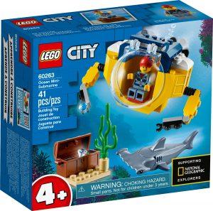 lego 60263 oceano minisubmarino