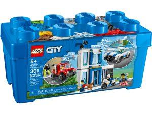 lego 60270 caja de ladrillos policia