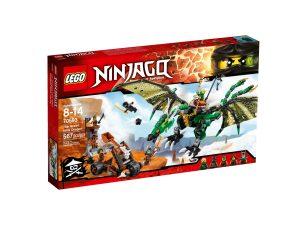lego 70593 dragon nrg verde