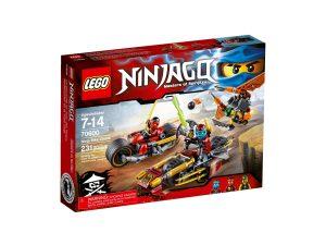 lego 70600 persecucion en la moto ninja