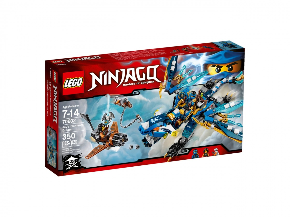 lego 70602 dragon elemental de jay scaled
