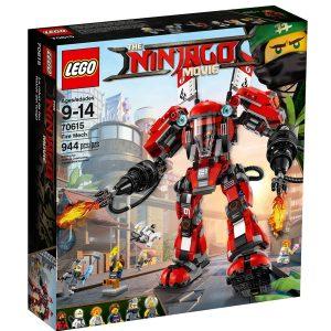 lego 70615 robot del fuego