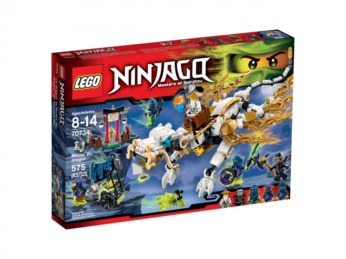 lego 70734 dragon del maestro wu scaled