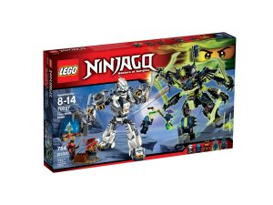 lego 70737 combate en el titan robot