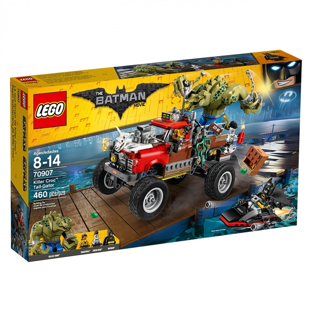 lego 70907 reptil todoterreno de killer croc scaled