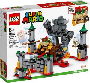 lego 71369 set de expansion batalla final en el castillo de bowser