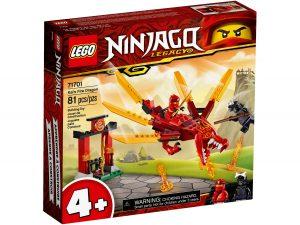 lego 71701 dragon de fuego de kai