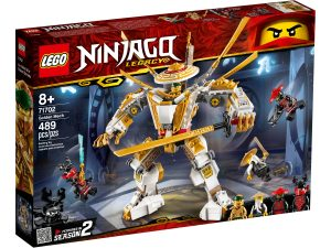 lego 71702 robot dorado