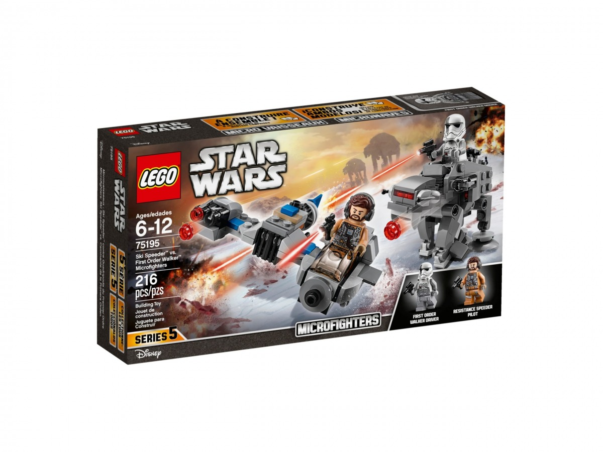 lego 75195 microfighters speeder esquiador vs caminante de la primera orden scaled