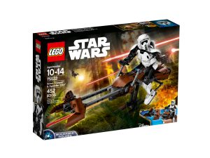 lego 75532 scout trooper y speeder bike