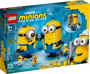 lego 75551 minions y su guarida para construir