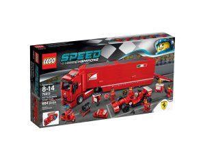 lego 75913 f14 t y camion de la escuderia ferrari