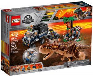 lego 75929 huida del carnotaurus en la girosfera