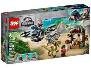 lego 75934 dilofosaurio a la fuga