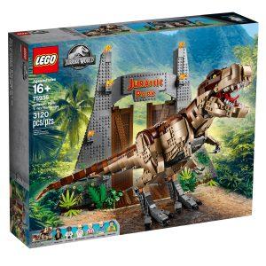 lego 75936 parque jurasico caos del t rex
