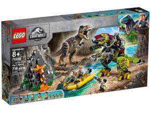 lego 75938 t rex vs dinosaurio robotico
