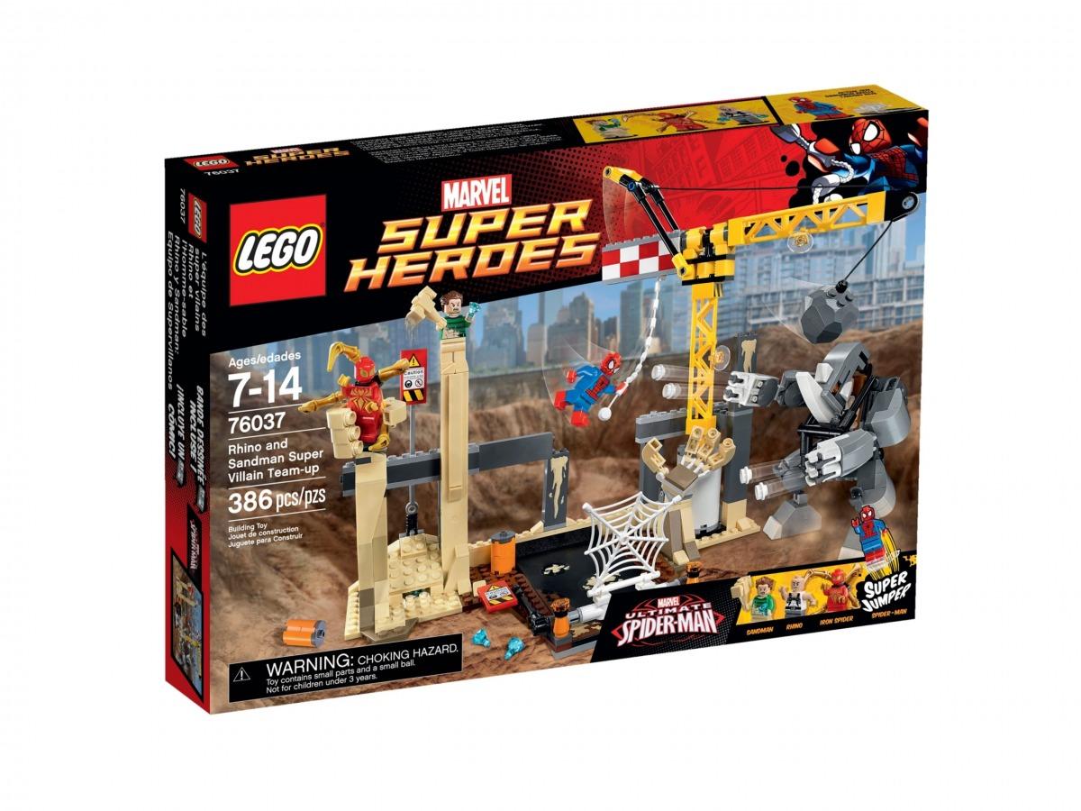 lego 76037 rhino y sandman equipo de supervillanos scaled