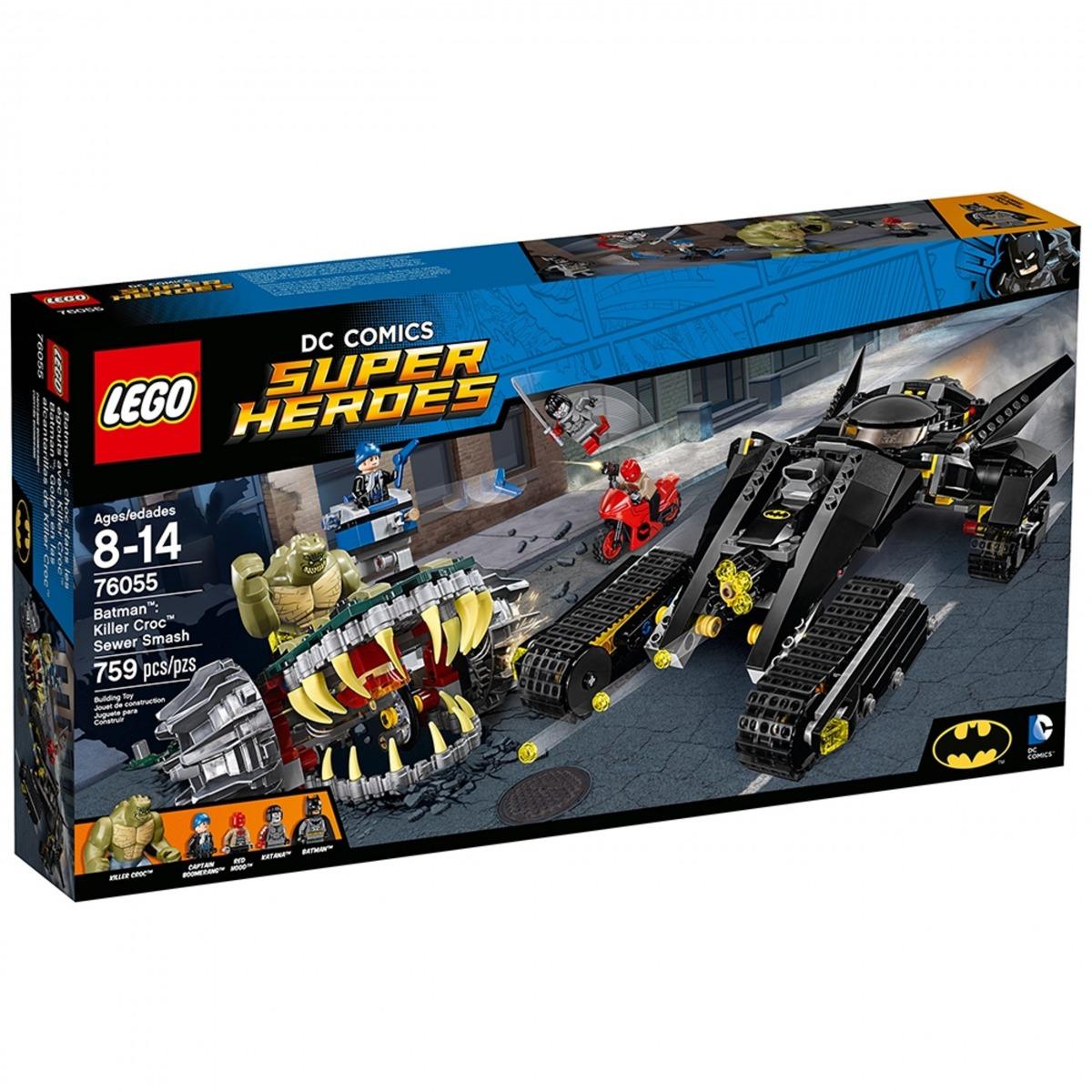 lego 76055 batman golpe en las alcantarillas de killer croc scaled