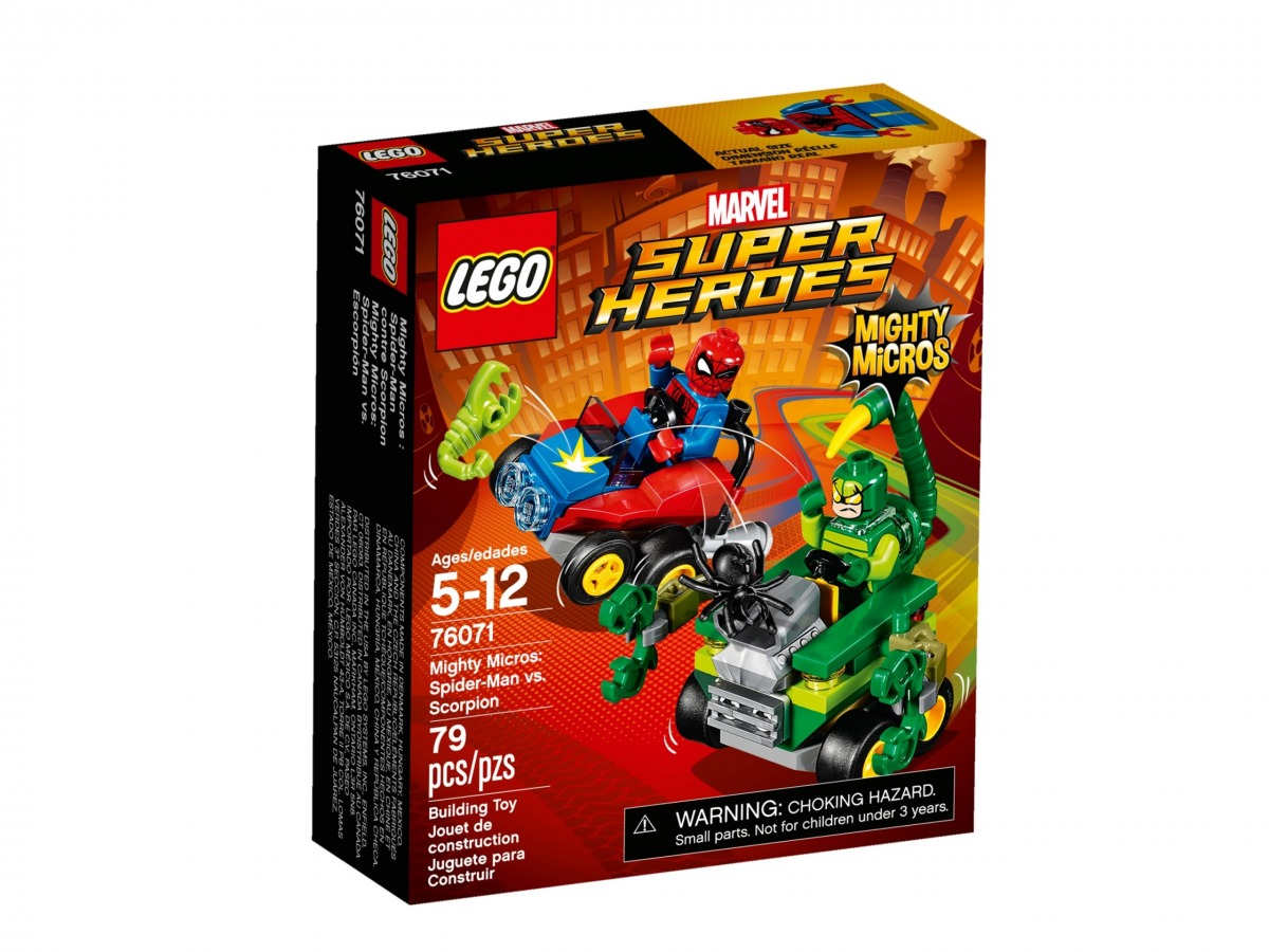 lego 76071 mighty micros spider man vs escorpion scaled