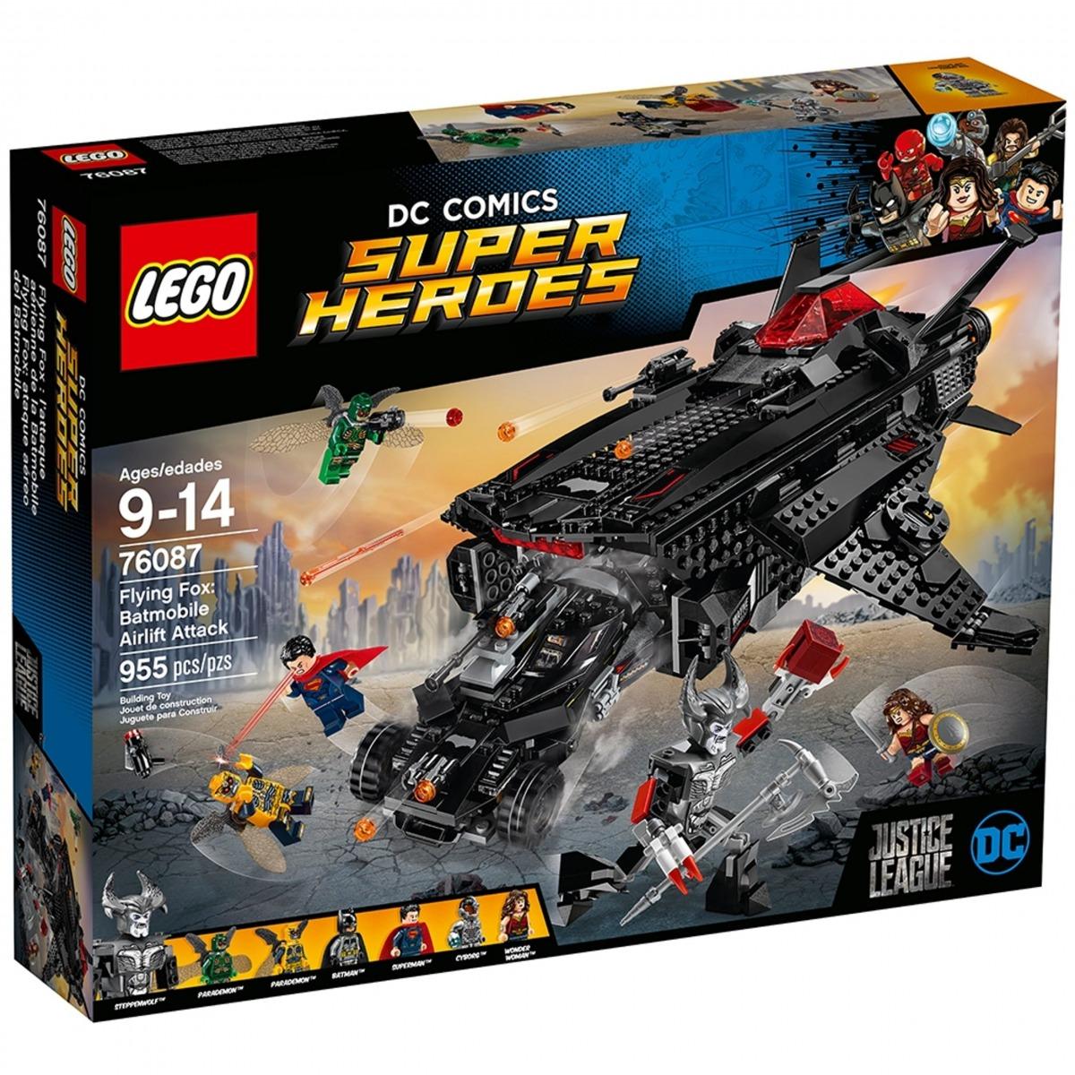 lego 76087 flying fox ataque aereo del batmobile scaled
