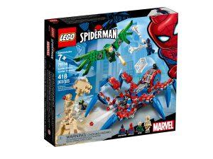 lego 76114 arana reptadora de spider man