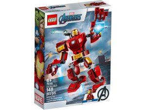 lego 76140 armadura robotica de iron man